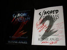 Slashed Dreams Part 2 softcover book signed by Kelli Maroney Russell Todd + 3