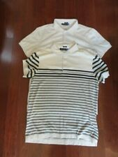 Lot of 2 Men's J. Lindeberg Golf Shirts Slim Fit Size L