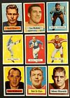 VINTAGE CARD LOT 1957 TOPPS FOOTBALL VENDING BART STARR ROOKIE CARD RC RARE