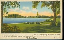 GAYLORD,MICHIGAN-IS THERE A FEELING THAT CAN COMPARE?(S-510)LINEN-(MICH-G)