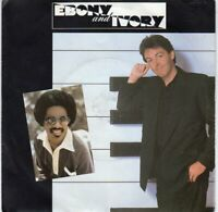 "7"" Single - PAUL McCARTNEY & STEVIE WONDER - Ebony and Ivory"