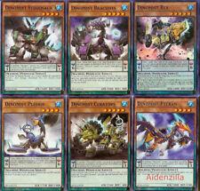 Yugioh Dinomist Pendulum Deck - Rex Pteran Brachion Ankylos Howling Spinos Lot