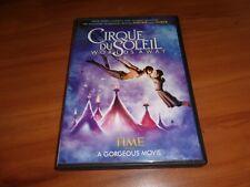 Cirque du Soleil: Worlds Away (DVD, Widescreen 2013) Used