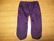 """15-16"""" CPK Cabbage Patch Kids DARK PURPLE POLYESTER KNIT TIGHTS LEGGINGS"""