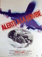 """ALERTE A LA BOMBE (SKY JACKED)"" Affiche originale (Charlton HESTON)"
