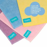 20 x Microfibre Baby Wipes by Little Gubbins  Pack of Reusable, Washable, Dry,