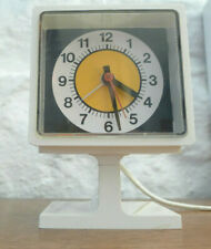Vintage retro 1960's 1970's Westclox pedestal drowse dialite desk table clock