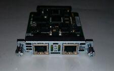 CISCO VWIC2-2MFT-T1/E1 2 PORT Multiflex Trunk Voice WAN Interface Card 800-22629