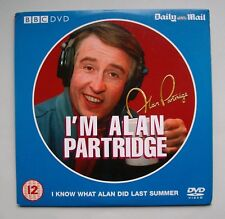 I'm Alan Partridge - I Know What You Did Last Summer DVD. Certificate 12.