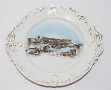Gruss aus Tailfingen, antiker Andenken Teller, Porzellan, ca. 1900  #F867