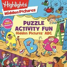 Puzzle Activity Fun: Hidden Pictures® ABC by Highlights for Children...
