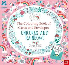 National Trust: The Colouring Book of Cards and Envelopes - Unicorns and Rainbows by Nosy Crow Ltd (Paperback, 2017)