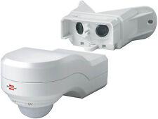 Brennenstuhl Corner Mounted PIR - Motion Movement Detector Sensor Unit - White