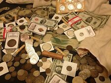 ✯ESTATE SALE LOT OLD US COINS✯CURRENCY✯PROOF SETS✯GOLD SILVER BULLION✯45 YEARS+✯