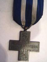Croce al merito di guerra modello 1° e 2° guerra mondiale