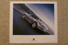 2005 Porsche Boxster S Showroom Advertising Sales Poster RARE!! Awesome L@@K