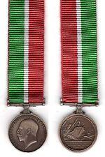 Miniature Medal,Mercantile Marine War Medal 1914 - 18