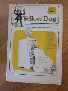 Yellow Dog 6 Robert Crumb S Clay Wilson Gilbert Shelton