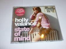 HOLLY VALANCE - State Of Mind - 2003 UK 4-track enhanced CD single