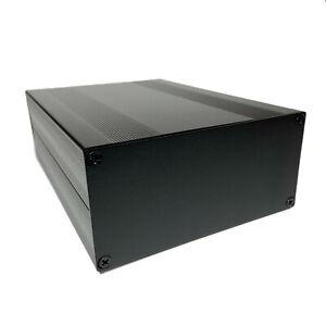 "Aluminum Project Box Enclosure Case 8"" x 5.7"" x 2.7"" Silver or Black"