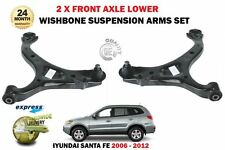 FOR HYUNDAI SANTA FE 2 CM 2006-2012 2X FRONT LOWER WISHBONE SUSPENSION ARMS SET