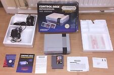 NES CONSOLE Nintendo totalmente Inscatolato Set + Game + TV Piombo + 2 Pad + POWER-UK VERS