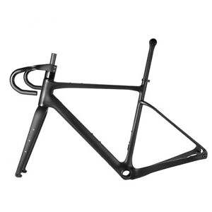 700C Carbon Gravel Frame Hidden Inner Cable All Road Cyclocross Bicycle Frameset