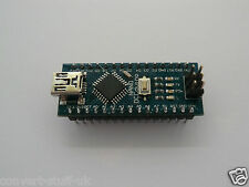 Arduino Nano Mini Pro R3 compatible board with USB lead. ATmega328. UK Supplier