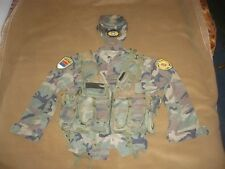 Serbian special police (PJP) uniform-shirt,vest and hat