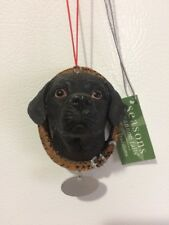 Black Labrador Retriever Dog Christmas Ornament Cannon Falls Holiday