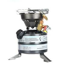 One-piece Outdoor Gasoline Stove Camping Cookware Picnic Hiking Burner K6T2