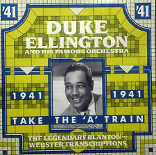 ! CD DUKE ELLINGTON - 1941, take the 'a' train, Blanton-Webster transcriptions