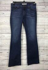 J BRAND Women's Bailey Boot Leg MayFlower Whiskered Denim Jeans Size 27