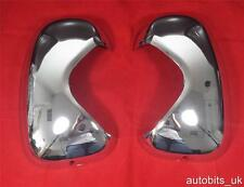 CHROME MIRROR COVERS SET FOR VAUXHALL OPEL VIVARO RENAULT TRAFIC PRIMASTAR