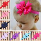 Kids Girl Baby Infant Flower Headband Hair Bow Band Hair Accessories Headwear