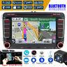 7'' 2DIN Navigatore Autoradio GPS Stereo DVD Player Per Vw Golf Mk5 Passat Seat