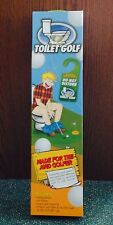 Toilet Golf Game -Toy Golf Game For The Avid Golfer! Great Father'S Day Gift!