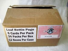 BETTIE PAGE CASE Empty Rare Leaf Case 58 of 150 Made No Cards 2014