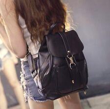 Leisure Women's  Backpack  Shoulder Bags School Bag Travel Leather Handbag
