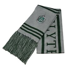 Harry Potter Vouge Slytherin House Wool Knit Scarf Wrap Cosplay Soft Warm Scarf