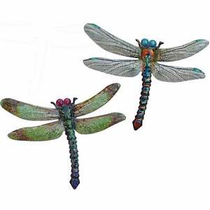 Primus Large Metal Dragonfly Garden Wall Art