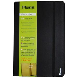 Mans Quaderno Notes a righe Block Notes Water Resistent Biodegradabili A5