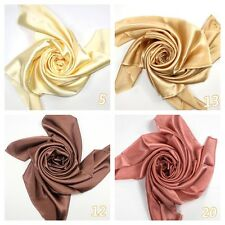 Yellow Champagne Gold Rusty Pink Pure Silk Satin Charmeus Fabric Per Meter