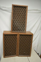 (3) Vintage Realistic Nova-7B Floor Speakers - WORKS Great Fast Free Shipping