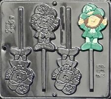 FS NEW St Pattys Day LEPRECHAUN Chocolate Candy Fondant Plaster Clay Lolly Mold