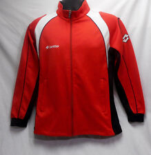 Lotto Women's Small Red Jacket Full Zipper and Zippered pockets