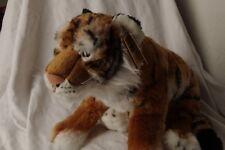 TIGER.....Plush Soft Toy Animal ..........Teddy....................Living Nature