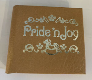 Vintage Pride 'n Joy - Small Picture Book - NEW