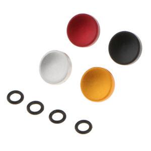 4 Pcs Camera Concave Shutter Release Button Repair Part for Nikon Rolleiflex