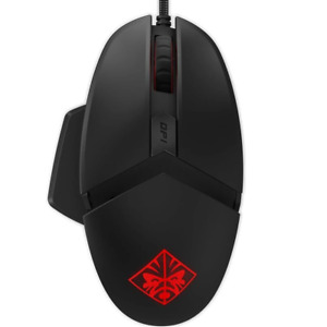 NEW HP OMEN Reactor Optical Gaming Mouse Wired Black